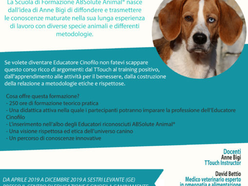 Formazione per Educatori Cinofili ABSolute Animal