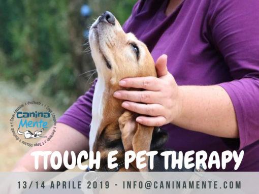 TTouch & Pet Therapy (Interventi Assistiti con l'Animale)